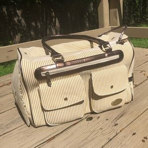 Fancy dog carrier just used once!
